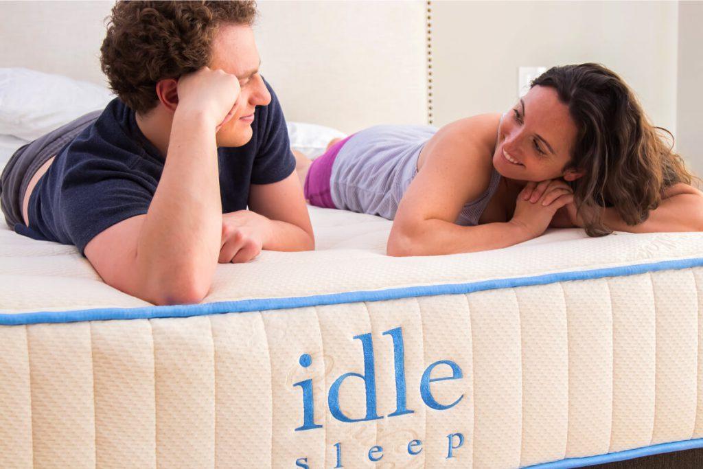 Idle Latex Hybrid organic mattress
